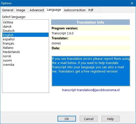 oversættelse dansk norsk